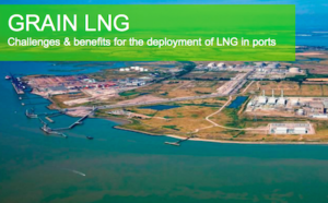 The LNG facility in grain uk