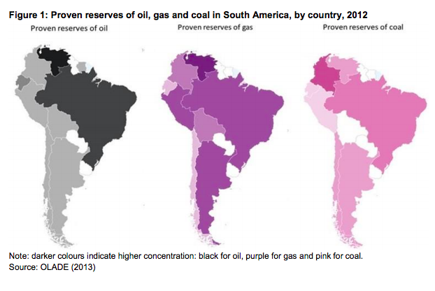 LNG in south american markets