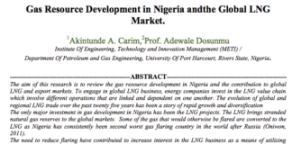 LNG development in Nigeria